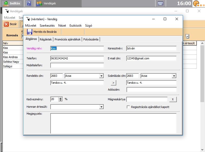 eszköz csatlakoztatása szoftver