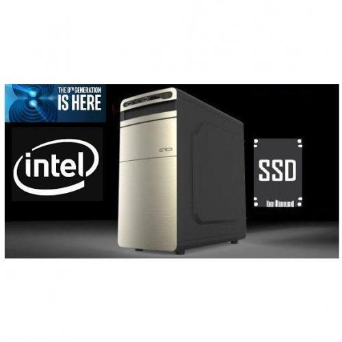 Asztali gép (INTEL CORE I5-11500/8GB DDR4/480GB SS
