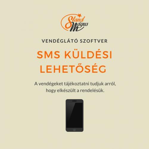 SMS küldési funkció